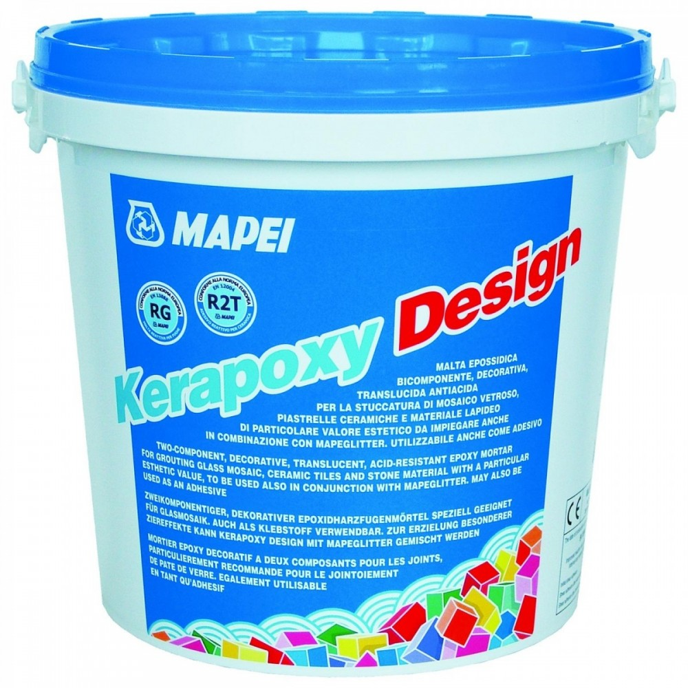 Затирка Mapei Kerapoxy Design N.114 / Мапеи Керапокси Дизайн антрацит (3 кг)Затирка для плитки<br><br>