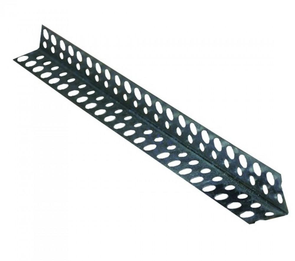 Уголок оцинкованный перфорированный (3 м)Профиль специальный<br>Один из этапов устройства конструкций из ГВЛ, ГКЛВ, гипсокартона и так далее – обеспечение надежной защиты внешних угловых элементов. Справиться с решением подобной задачи поможет уголок оцинкованный перфорированный (3 м). Он изготавливается из стальной ленты и отличается «L»-образной формой.  В отличие от алюминиевого аналога обладает более высокой прочностью, жесткостью и широкой областью применения. Благодаря оцинковке уголок «не боится» воздействия воды и может использоваться во влажных/неотапливаемых п<br>