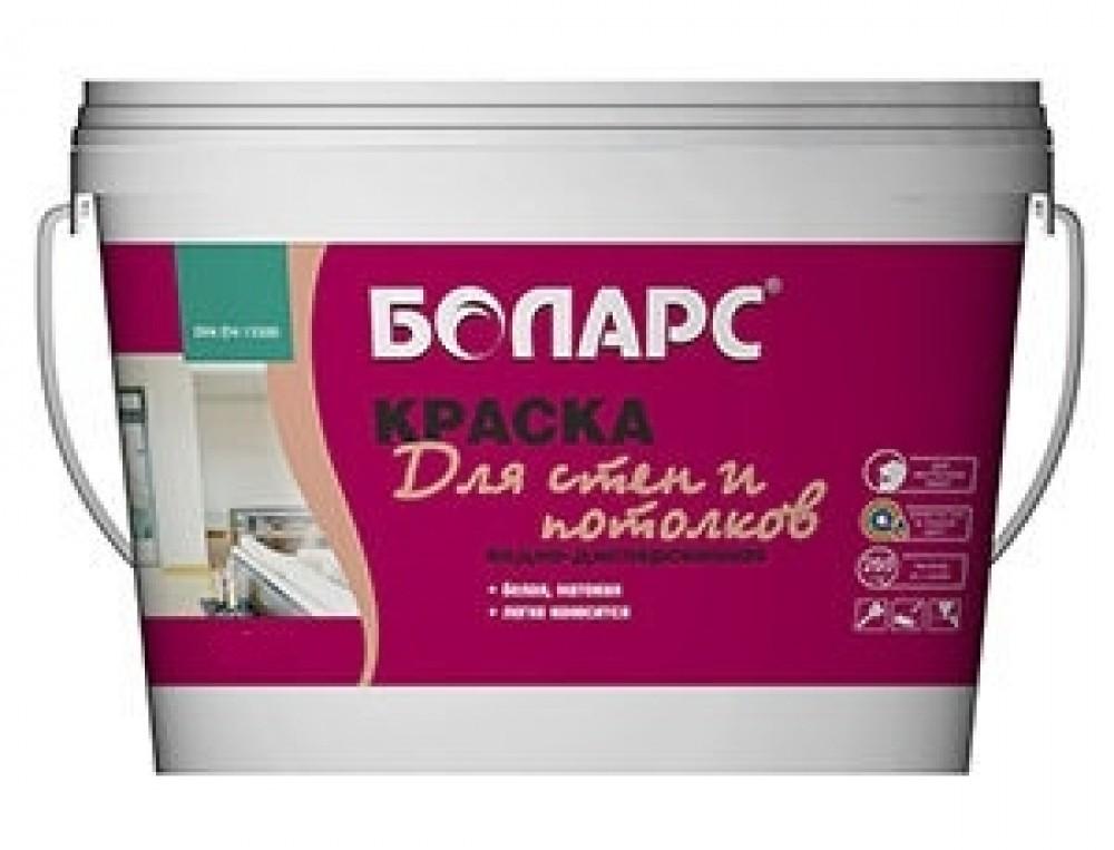 Краска для стен и потолков Боларс белая (15 кг)Краска<br><br>