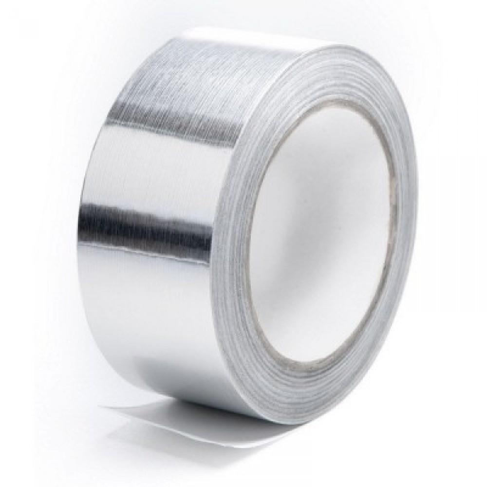 Скотч лента алюминиевая (5 см / 40 м)Стеклообои, Серпянка, Сетка, Лента, Скотч<br><br>