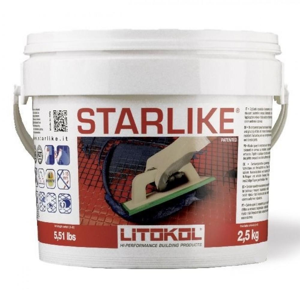 Эпоксидная затирка LITOKOL LITOCHROM STARLIKE C.540 / ЛИТОКОЛ ЛИТОХРОМ СТАРЛАЙК зеленый шалфей (2.5 кг)Затирка для плитки<br>Уникальный оттенок межплиточным швам придает эпоксидная затирка LITOCHROM STARLIKE C.460 (Оранжевый) 2,5 кг. Насыщенный фруктовый цвет идеально подходит для ярких, «живых» облицовок, создающих в интерьере помещения бодрую, стрессоустойчивую, но в то же время теплую и уютную атмосферу. При этом выраженный оранжевый оттенок затирки не померкнет со временем и не пожелтеет, благодаря запатентованной защите продукта от ультрафиолета. Даже швы, эксплуатируемые на улице, сохраняют свое первоначальное цветовое реше<br>