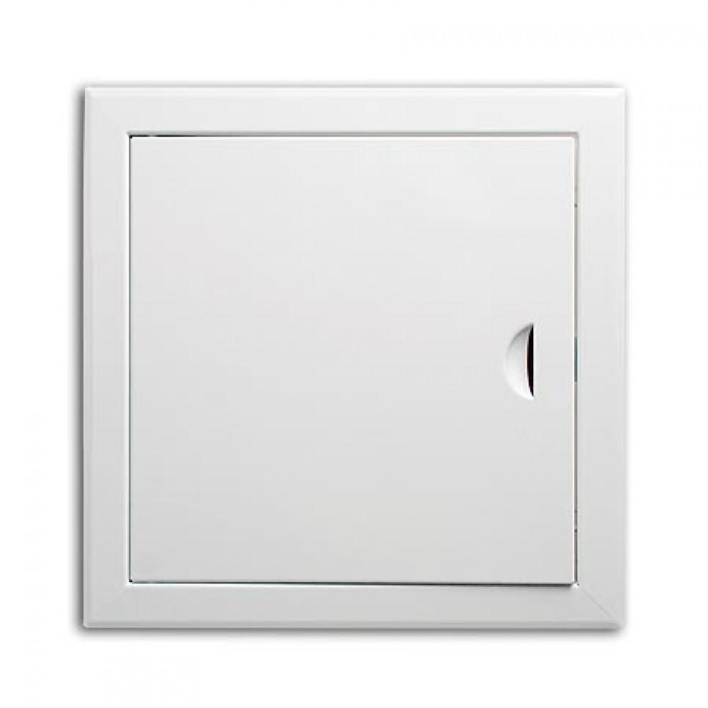 Люк сантехнический с магнитом (белый / 250х250 мм)Сантехнические люки<br><br>