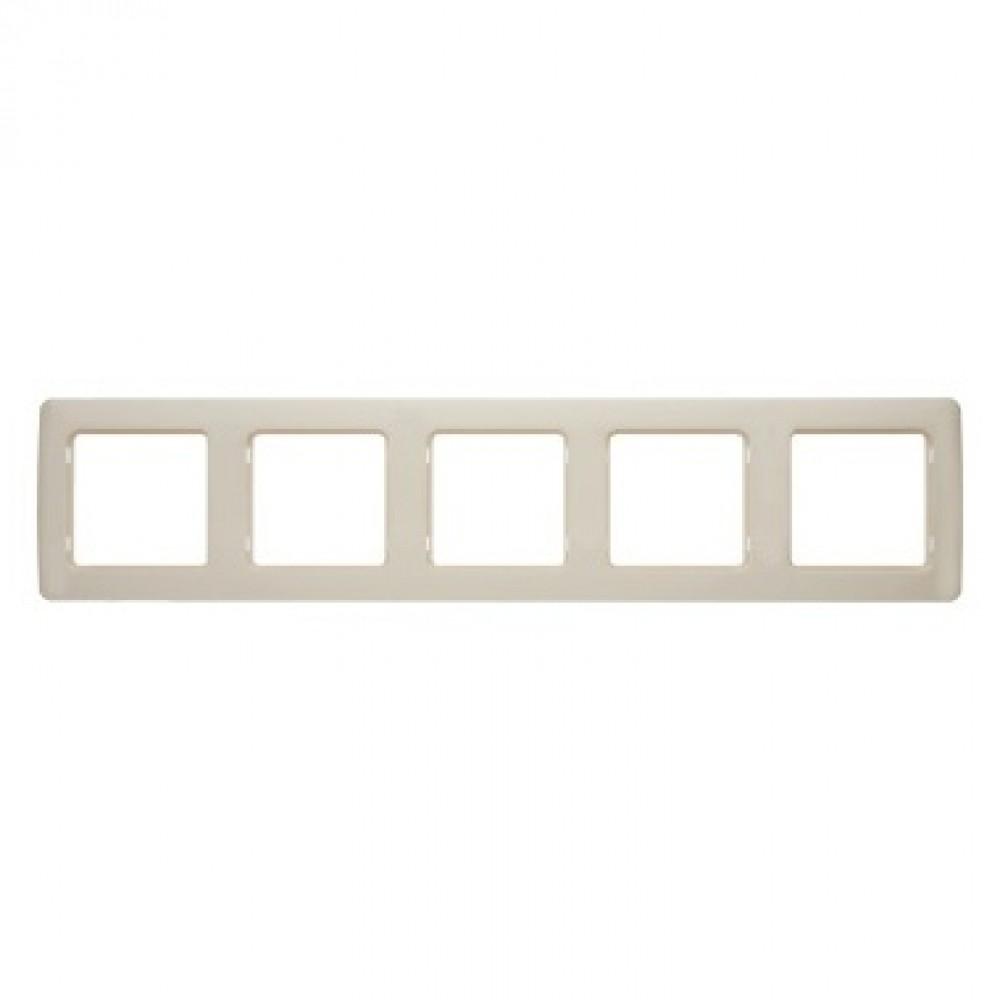 Рамка пятимодульная Legrand / ЛеграндРозетки и выключатели Легранд (Legrand)<br><br>