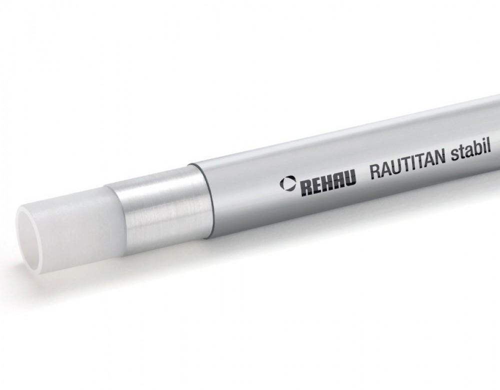 Труба REHAU RAUTITAN STABIL / Рехау металлополимерная (25 х 3.7 мм / 1 м.п.)Трубы<br><br>