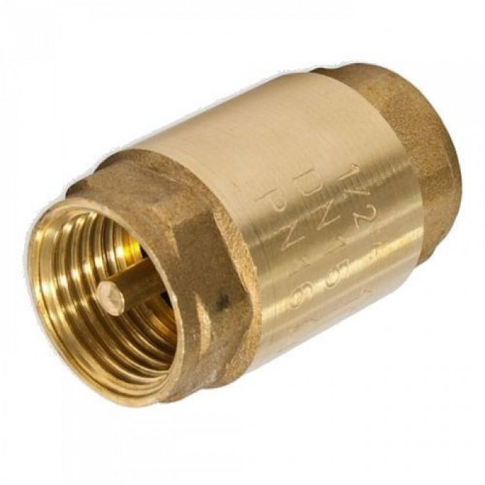 Клапан обратный пружинный муфтовый с металлическим седлом Itap Europa 100 / Итап 1/2Предохранительная арматура<br><br>