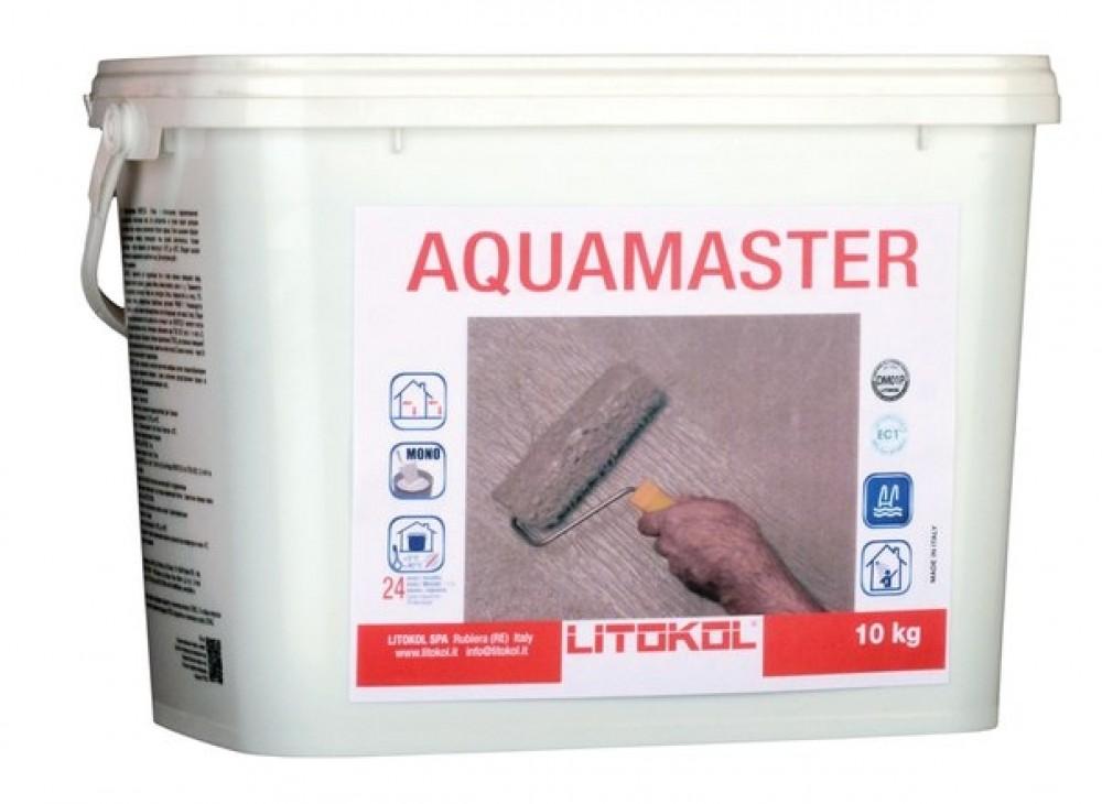 Однокомпонентный эластичный гидроизоляционный состав LITOKOL AQUAMASTER / ЛИТОКОЛ АКВАМАСТЕР (10 кг)Гидроизоляционные материалы<br><br>