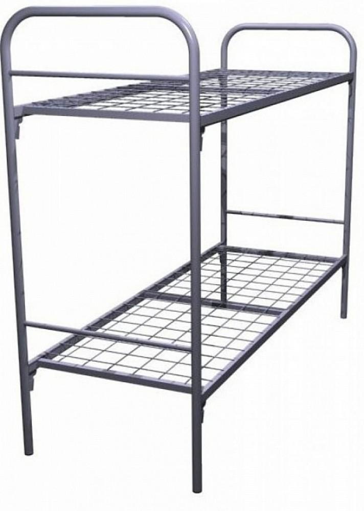 Двухъярусная кровать металлическая эконом (1924 / 1964 х 707 / 810)Новые поступления<br><br>