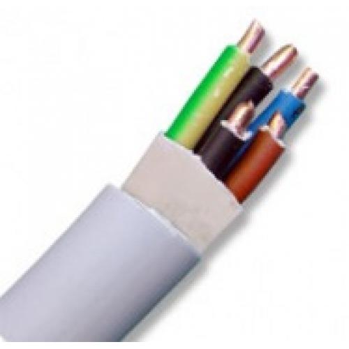 Кабель NYM 5х4 Евростандарт (ГОСТ / 1 м)Кабель силовой медный (НУМ, NYM) в м.пог.<br>Пятижильный кабель NYM 5х4 Евростандарт (1 м) применяется для устройства трехфазных сетей, подключения различного оборудования, часто используется в конструкциях контуров заземления и т.д. Благодаря специальному строению данные провода очень удобны в электромонтажных работах. Внутренняя часть кабеля заполнена особой резиноподобной невулканизированной смесью. Ее наличие существенно упрощает процесс «разделки» провода, в частности отделения и зачистки медных жил. Используя обычный нож можно быстро подготовить<br>