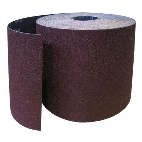 Наждачная бумага №8 (775 мм x 30 м / 1 м.п)Сеткодержатели, сетка абразивная<br>Современная наждачная бумага №8 (775 мм х 30 м/1 м.п.) представляет собой абразивный материал применяемый для ошкуривания поверхностей. Если провести аналогию с зарубежной маркировкой, то четвертый номер соответствует ISO P 150. Материал состоит из тканой основы и нанесенным на нее абразивным зерном. В соответствии с его размерами, «наждачка» применяется: для удаления старой краски перед дальнейшим декорированием ЛКМ, финишной шлифовки мягкой древесины (например под лакированное покрытие или морилку), предв<br>