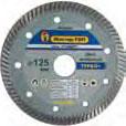 Диск алмазный турбо класс Стандарт (диаметр 180 мм. посадочный 22 мм. толщина реза 2.4 мм)Диски<br>Давно известно, что алмаз, из всех известных природных материалов, является самым твердым. Такая особенность наделяет его великолепными режущими свойствами. Именно по этой причине диск алмазный турбо класс Стандарт (диаметр 180 мм. посадочный 22 мм. толщина реза 2,4 мм) активно используется для пиления: камня, кирпича, бетона, гранита, клинкера, железобетона и других аналогичных материалов, обладающих высокими прочностными характеристиками. Конечно, для производства инструмента применяется не натуральная, а<br>