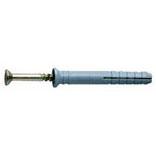 Дюбель-гвоздь потайной (8х120 / 100шт.)Дюбель-гвозди<br>Одним из востребованных крепежных элементов способных обеспечить высокую скорость монтажа является дюбель-гвоздь. потайной (8х120). Его основное предназначение заключается в фиксации различных материалов, конструкций, изделий к твердым поверхностям: кирпич, бетон, камень, гипсоблоки и т.п. Крепеж объединил в себе лучшие качества гвоздей и шурупов, а именно:- Как и гвоздь, легко забивается молотком, а не закручивается, что позволяет ускорить проведение работ особенно на больших площадях. При этом обеспечивае<br>
