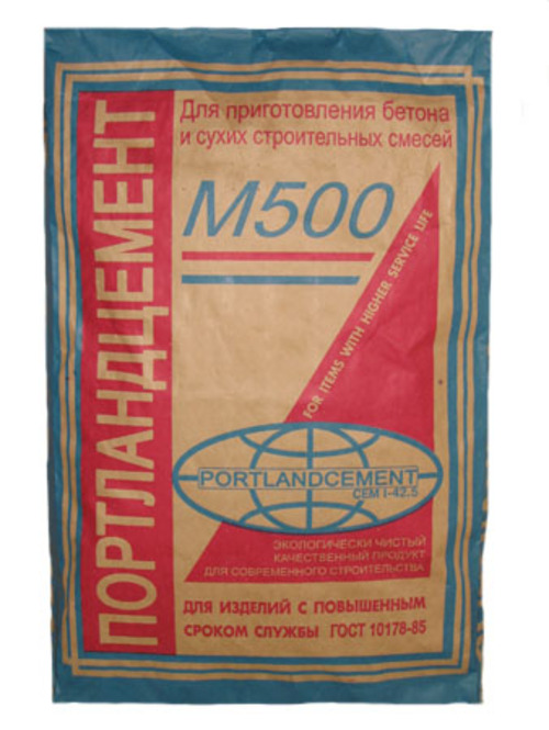 Цемент М-500 (40 кг) ПортландцементСухие смеси, гарцовка<br>Универсальный  цемент М-500 (40 кг) Портландцемент по праву считается самым популярным и востребованным материалом. Он находит свое применение практически в любом виде современного строительства: жилое, промышленное, общегражданское. Цемент незаменим при бетонировании несущих конструкций, закладки фундаментов, проведения работ внутри помещений. С его помощью выравниваются поверхности (штукатурятся), возводятся межкомнатные и капитальные межквартирные перегородки. Помимо этого материал активно используется в<br>