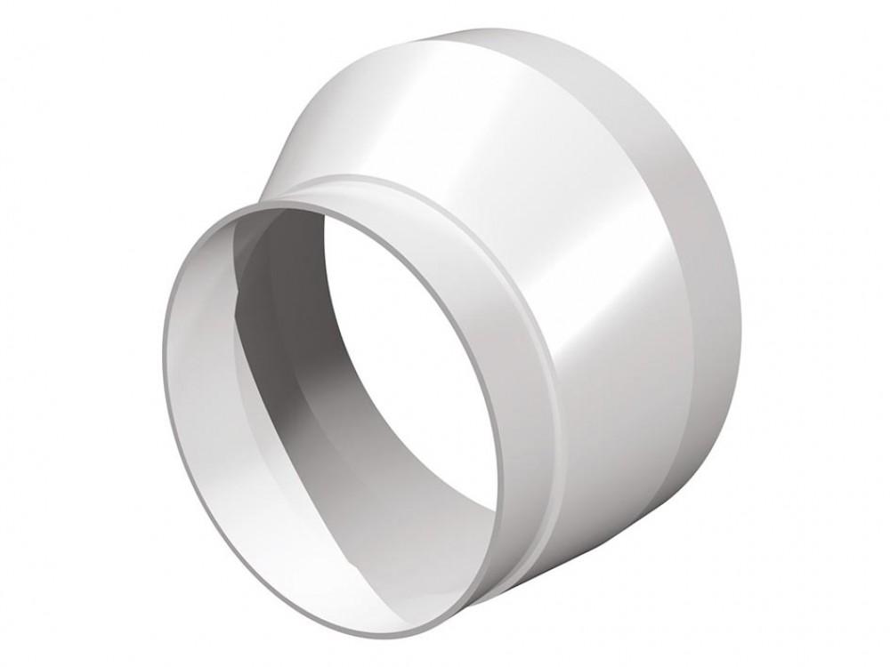 Соединитель эксцентриковый круглых воздуховодов (D125 / 160 мм)