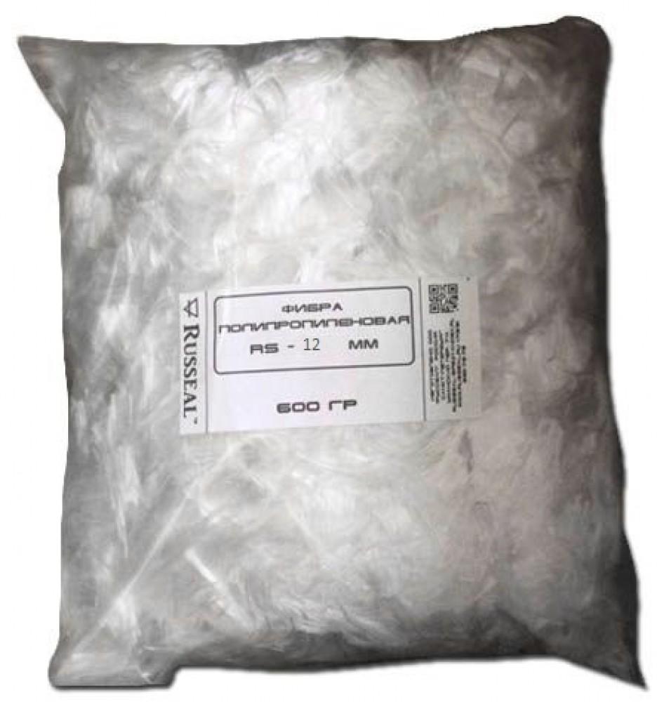 Фибра полипропиленовая Russeal / Руссеал RS-12 ммСухие смеси, гарцовка<br>Фибра полипропиленовая Russeal является армирующим материалом, применение которого позволяет предотвратить образование трещин в бетонных и гипсовых конструкциях. Бетонные смеси, армированные фиброволокном, пятикратно повышают свою устойчивость к раскалыванию под воздействием механических нагрузок. Фибра – это волокна тончайшего диаметра, полученные в результате продольного вытягивания полипропилена.Фибра полипропиленовая широко применяется в строительстве. В сравнении с традиционными армирующими материалами<br>