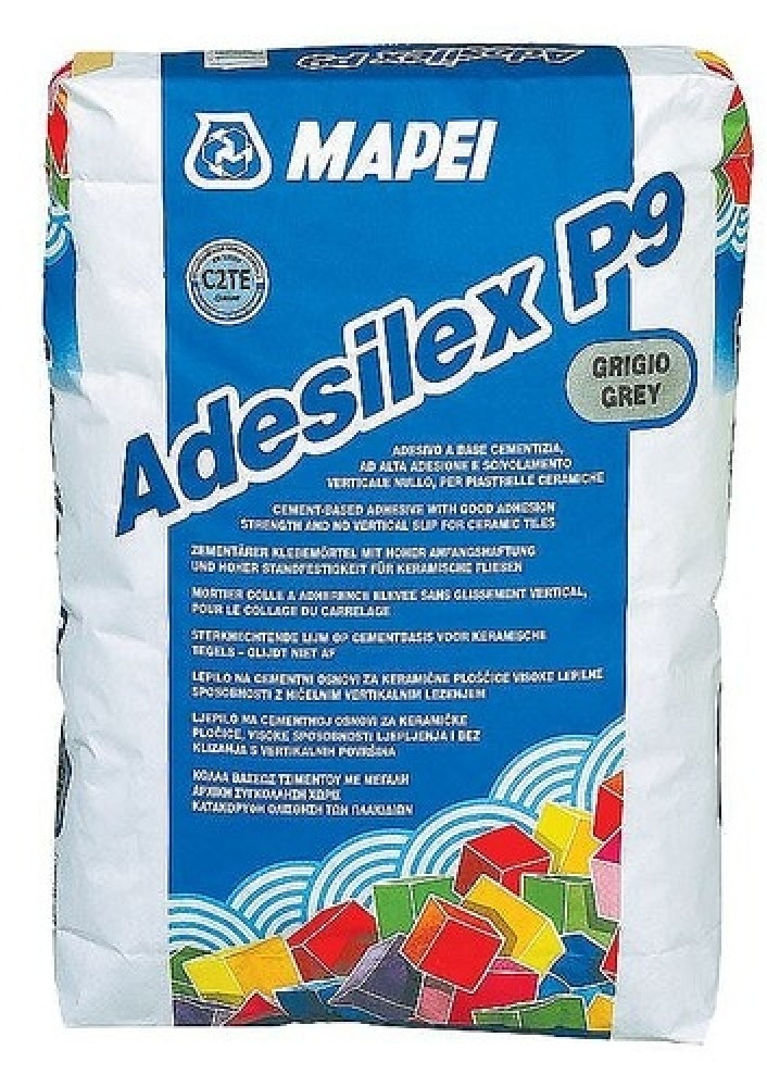 Клей для плитки Mapei Adesilex P9 9 серый (25 кг)