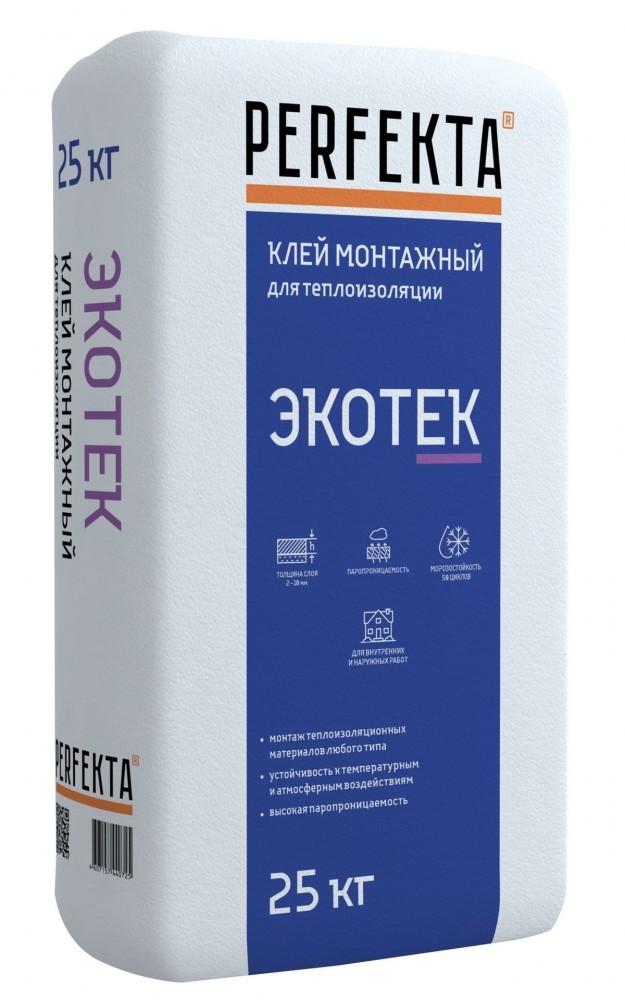 Клей монтажный PERFEKTA ЭКОТЕК (25 кг)
