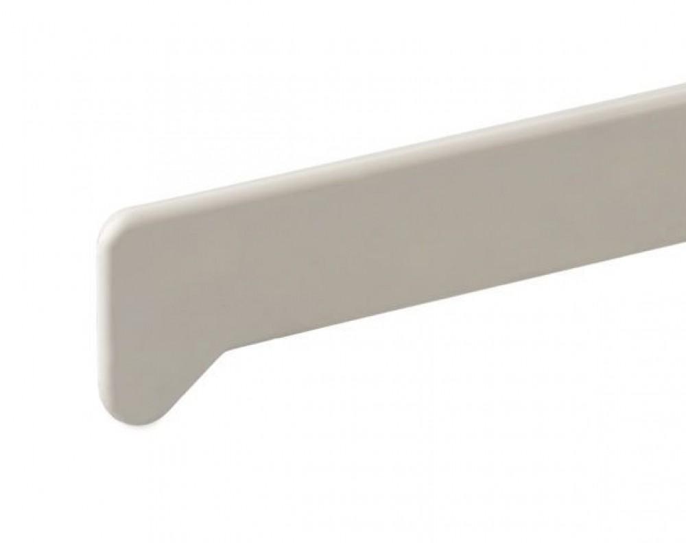 Заглушка для подоконника Moeller / Мёллер белая глянец (47 см / левая)Подоконники<br><br>