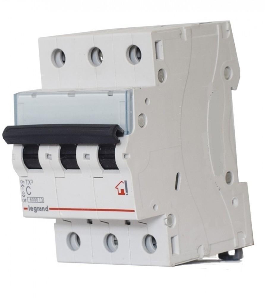 Автоматический выключатель Legrand RX? 4500 - 3П - 400 В~ - 25 А - 3 модуля