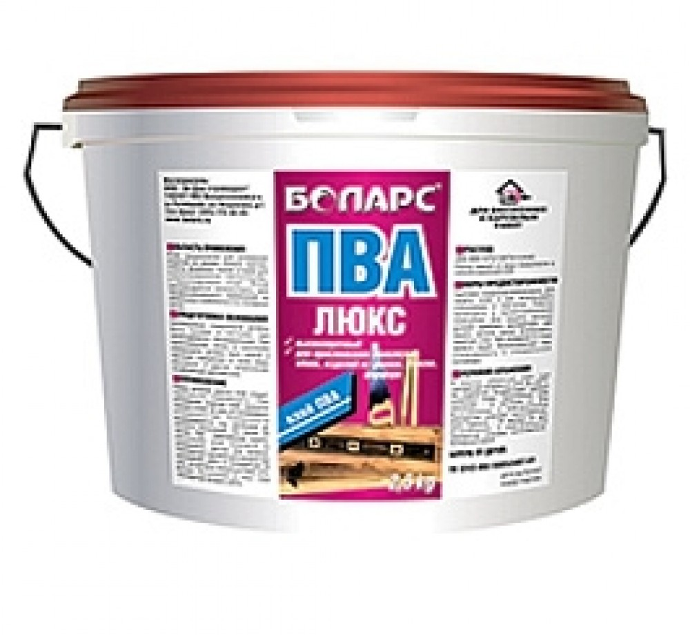 Клей ПВА Боларс Люкс (10 кг)Клей, Жидкое стекло, Очистители и другие жидкости<br><br>