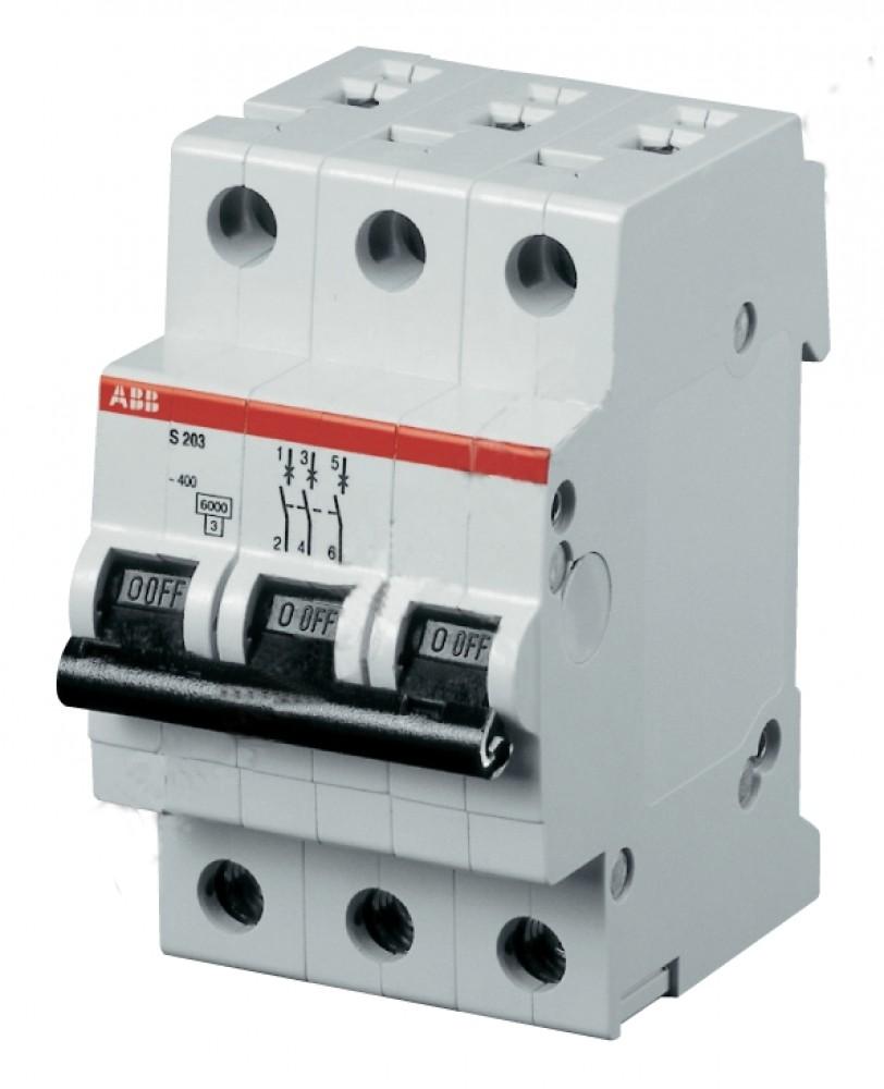 Автоматический выключатель ABB (3p / C32А / 4.5кА / SH203L)Автоматика<br><br>