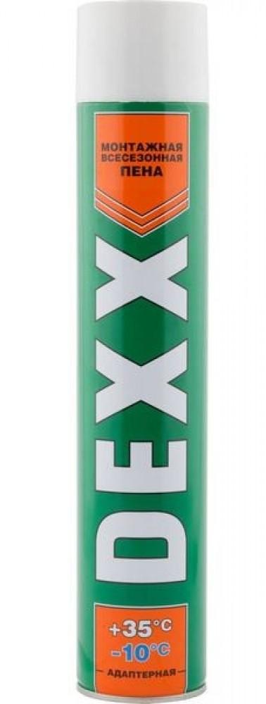 Пена монтажная всесезонная DEXX (750 мл)Монтажная пена<br><br>