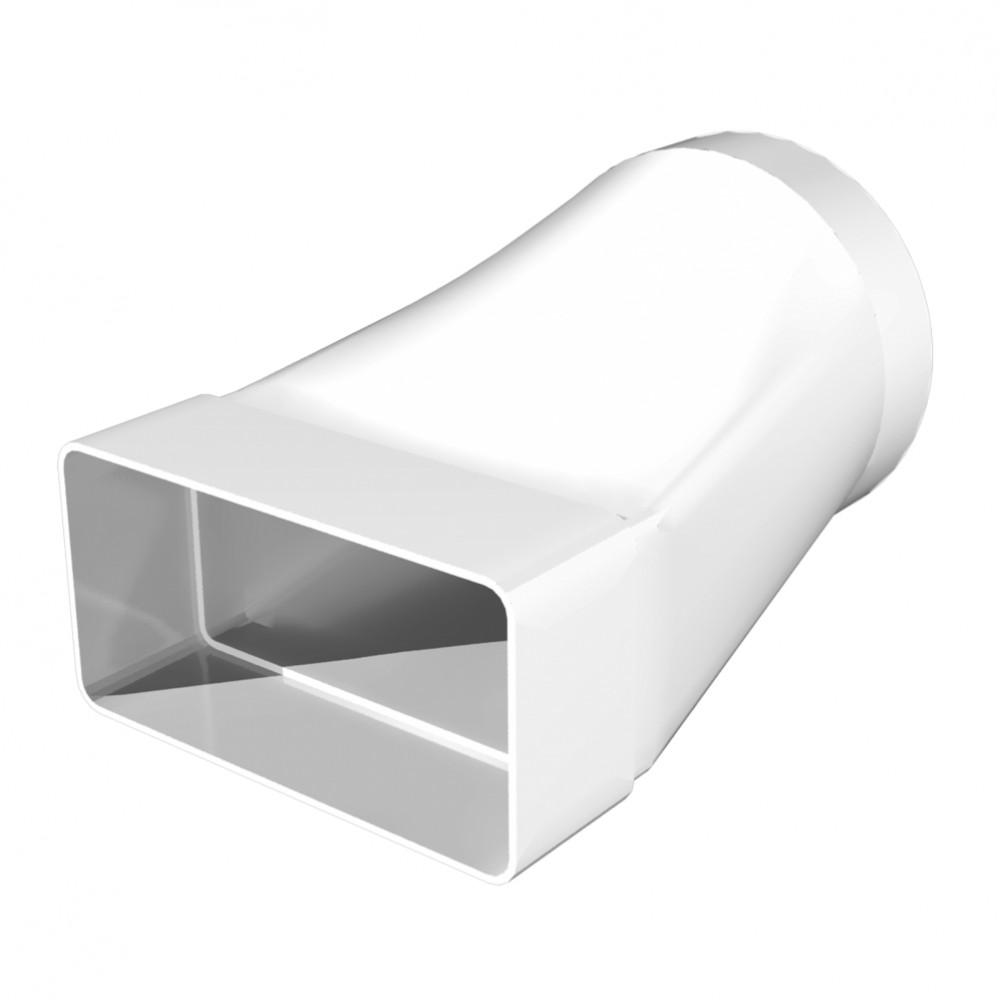 Соединитель (прямой) прямоугольного воздуховода 60х204 мм с круглым D125 мм