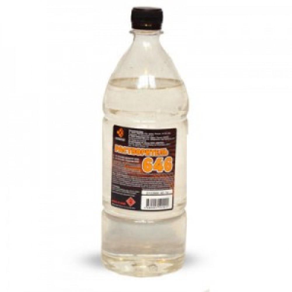 Растворитель 646 (1 л)Клей, Жидкое стекло, Очистители и другие жидкости<br><br>