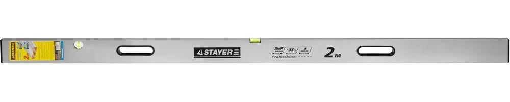 Правило-уровень с ручками STAYER Professional GRAND ( 2 м)Правило, терки<br><br>