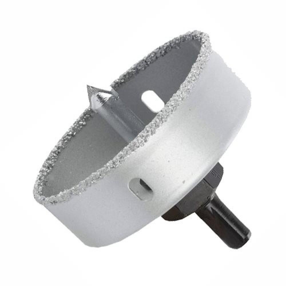 Коронка-чашка с напылением карбид-вольфрама Зубр (64 мм)Буры, сверла, коронки<br><br>