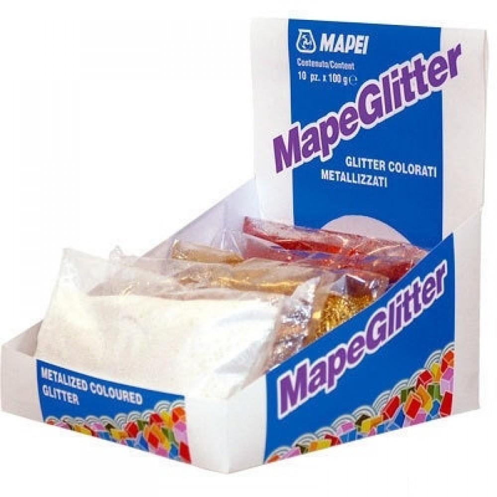 Жидкая полимерная добавка для шовных заполнителей Mapei MapeGlitter sand (100 г)