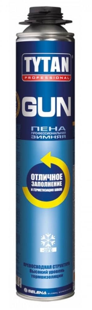 Пена профессиональная монтажная Tytan GUN / Титан зимняя (750 мл)Монтажная пена<br><br>
