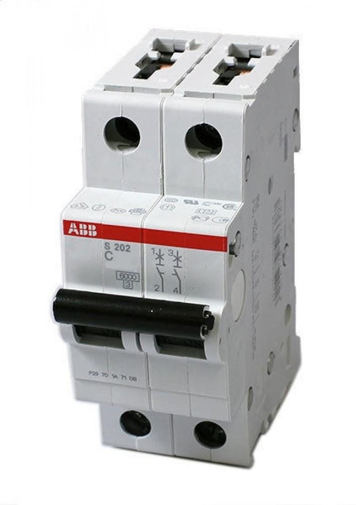Автоматический выключатель ABB (2p / C32А / 4.5кА / SH202L)Автоматика<br><br>