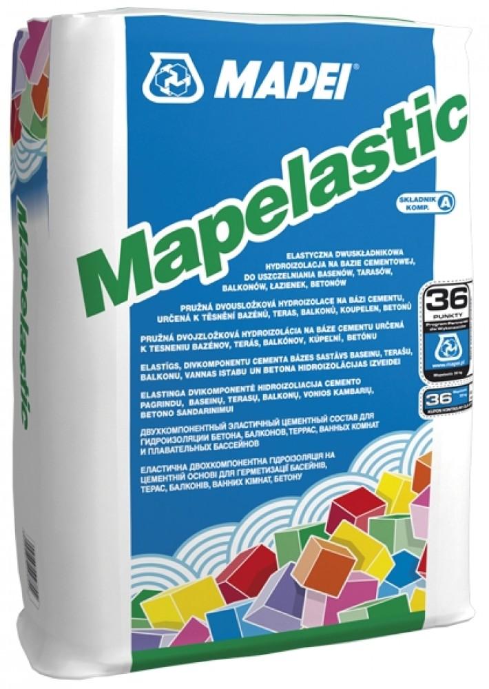 Полимерный состав Mapei Mapelastic / Мапеи Мапеластик компонент А (24 кг)Гидроизоляционные материалы<br><br>