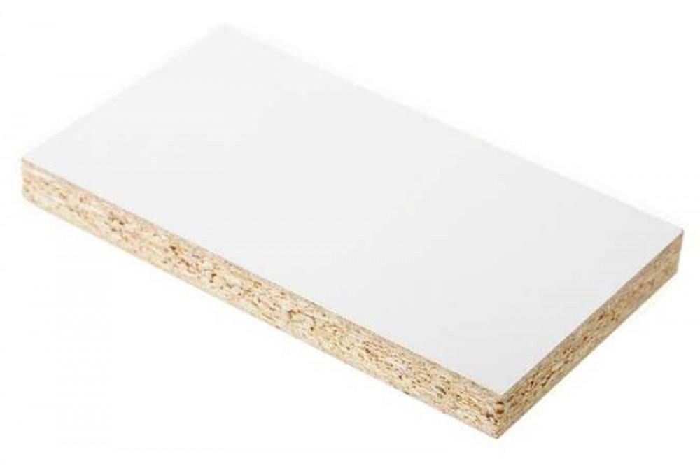 Панель ламинированная ЛДСП (2750 х 1830 х 16 мм / белая)Древесно-плитные материалы<br><br>