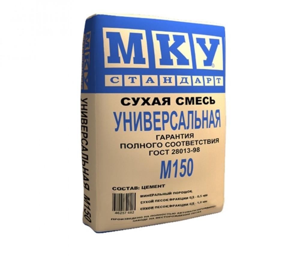 Сухая смесь универсальная М-150 МКУ (40 кг)Сухие смеси, гарцовка<br><br>